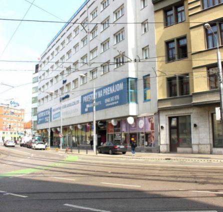 StarBrokers – PRENÁJOM: obchodný priestor 307 m2 - budova LUXOR Štúrova ul. Bratislava Staré Mesto