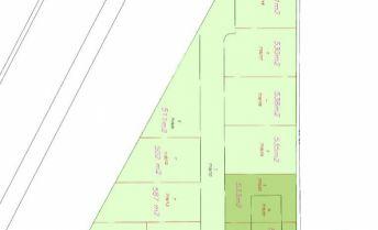 Stavebný pozemok 1596 m2 so stavebným povolením na rodinný dom v obci Réca