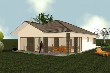 IMPEREAL - Novostavba rodinny dom na kľúč, plot, brána - luxusný