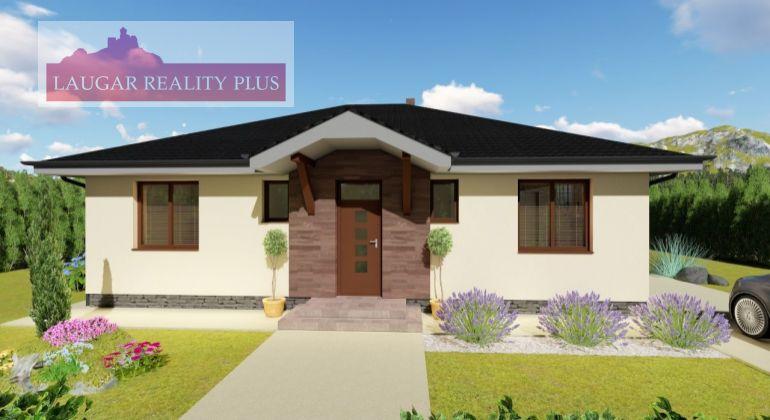 Exkluzívne, Rodinný dom + pozemok Tr. Jastrabie - vo výstavbe