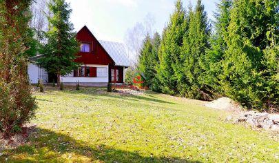 Rekreačná chata na výnimočnom mieste v okolí prírody, predaj,Veľký Foklmar,Košice-okolie