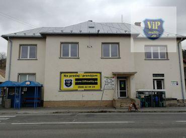 Polyfunkčná budova na bývanie aj podnikanie, B. Bystrica – Horná Mičiná