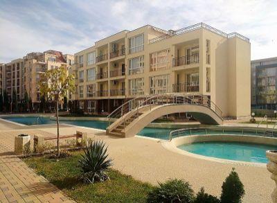 Exkluzívny 1-izbový byt v apartmánovom komplexe na Slnečnom pobreží-Bulharsko-3.poschodie