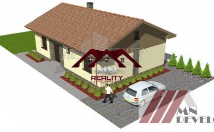 Exkluzívne 3 rodinné domy Ludanice