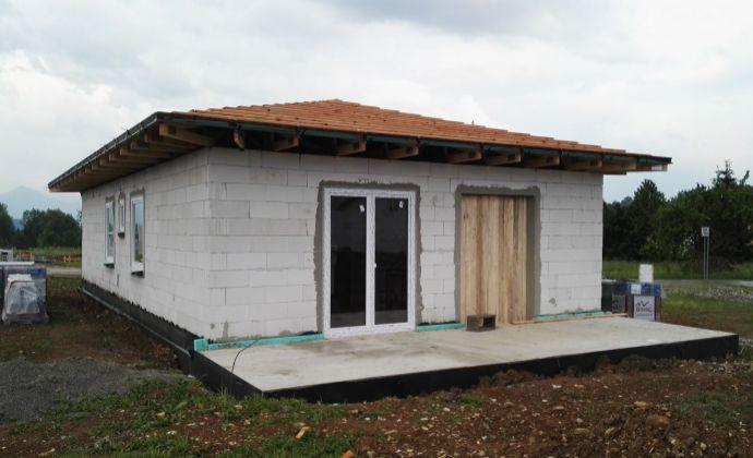 Rodinný dom, bungalov Kláštor pod Znievom – novostavba