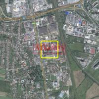 Priemyselný pozemok, Košice-Barca, 2800 m²