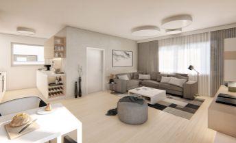 3 izbový rodinný dom, rozloha 100,7m2, pozemok 518m2, 2x parkovacie státie, už skolaudované