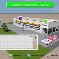 Skladovacie, Lužianky, 1170 m², Kompletná rekonštrukcia