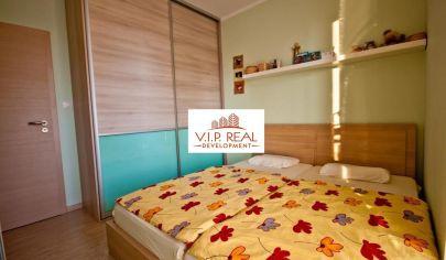 Slnečný 3-izbový byt v novostavbe na začiatku Petržalky