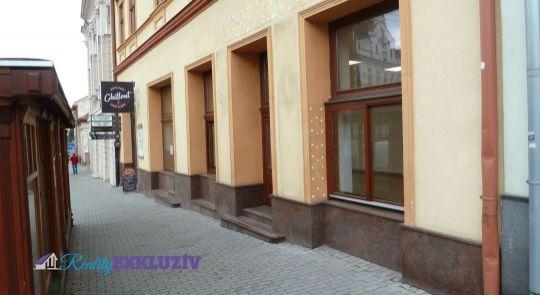 Obchodný priestor v centre mesta Lučenec na prenájom - cena dohodou