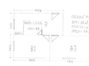 Vrakuňa - 2 izbový byt