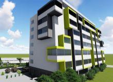2 izbový byt s loggiou  64 m2     NOVOSTAVBA GREEN SIDE