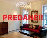 PREDANE!!! Na predaj ZARIADENÝ 2-izb. byt, ul. Rákoczi, BUDAPEST VII.