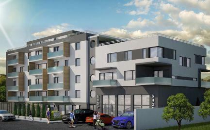 Vzrušujúci Penthouse/Mezonet s úžasnou terasou a nádherným výhľadom, novostavba Nábrežná, Sídlisko II