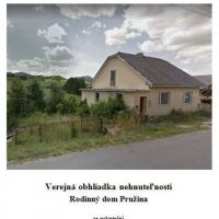 Rodinný dom, Pružina, 100 m², Čiastočná rekonštrukcia