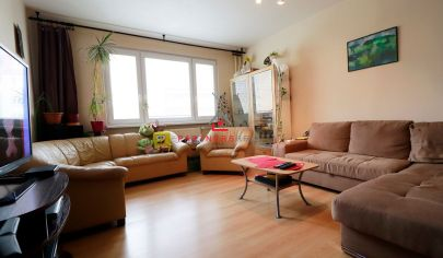 Rozľahlý 3 izbový byt,82m2,po čiastočnej obnove, predaj,Košice-Sídlisko Ťahanovce, Aténska