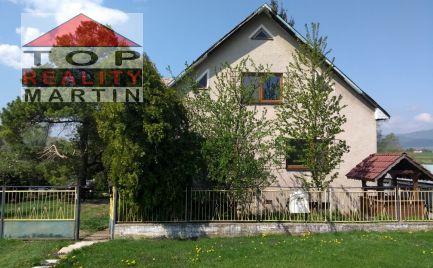 EXKLUZÍVNE Poschodový, podpivničený rodinný dom v Bodorovej, pozemok 3144 m2