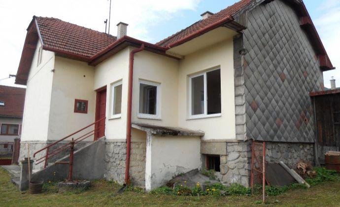 Rodinný dom Vrútky – Karvaša a Blahovca, 2-izbový