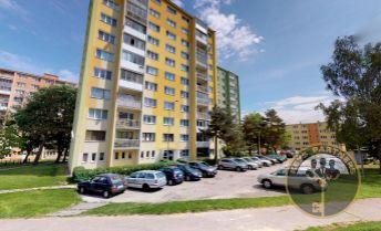 REZERVOVANÉ - 3 izb. byt, RUŽÍNSKA ul., prízemie., KE - Terasa