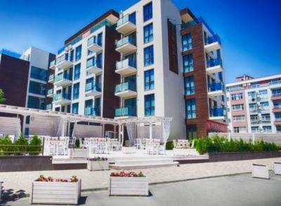 Exkluzívny 1-izbový byt v apartmánovom komplexe na Slnečnom pobreží-Bulharsko-5.poschodie