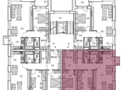 REZERVOVANÝ  M21:  Na predaj veľký 3 izbový byt v novostavbe Byty MAXIM - Martin - Podháj + vlastné parkovacie miesto,