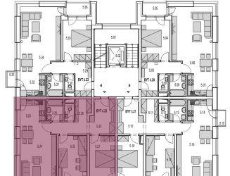 M22:  Na predaj veľký 3 izbový byt v novostavbe Byty MAXIM - Martin - Podháj + vlastné parkovacie miesto,