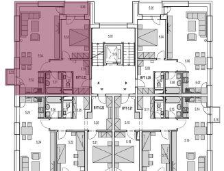 M23: Na predaj 2 izbový byt v novostavbe Byty MAXIM - Martin - Podháj + vlastné parkovacie miesto,