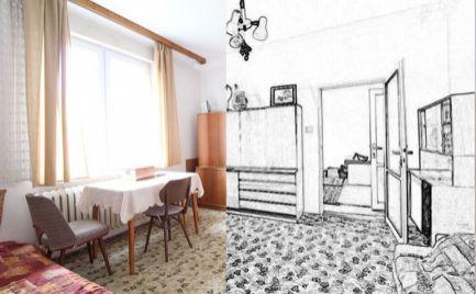 DOM-REALÍT ponúka, Svetlý 4izb byt 84m2 v skvelej lokalite Ružinova