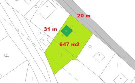 Rekreačná chata s pozemkom 647 m2, pri B. Bystrici – cena 52 500€