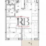 Na prenájom 2 izbový byt s balkónom na Rusovskej ceste v Petržalke