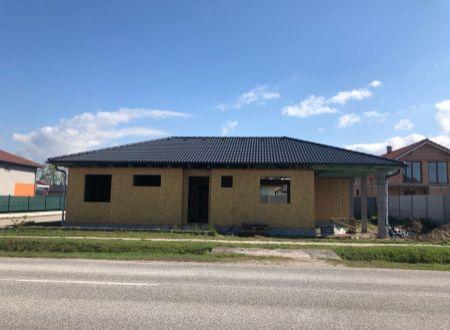 Novostavba Rodinný dom Práznovce / VYPLATENA ZALOHA