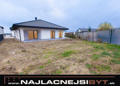 Najlacnejsibyt.sk: 4i rodinný dom, ZP 175 m2, pozemok 688 m2 - Novostavba - Skolaudovane