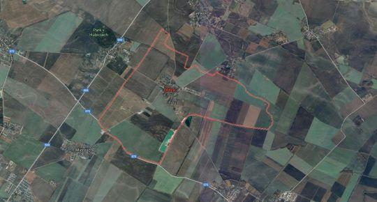 Na predaj stavebný pozemok, 643m2,obec Oľdza, okr. Dunajská Streda