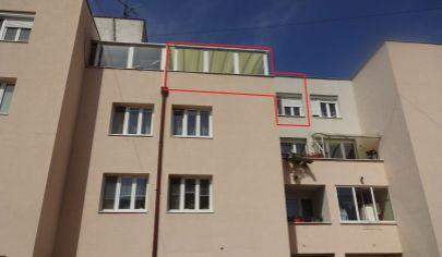 Priestraný 2 izbový byt s terasou 92 m2 a výhľadom, ul. Kuklovská - Karlova Ves