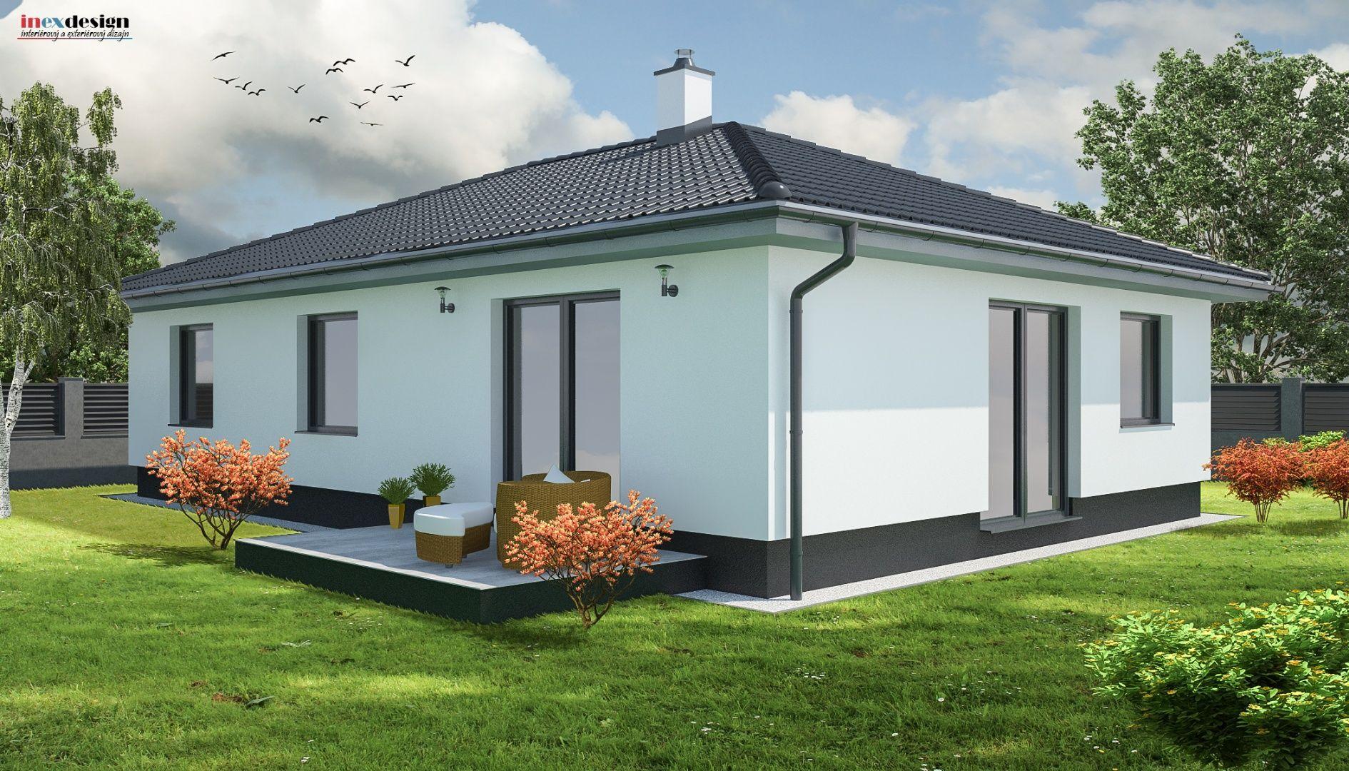 6a0020e4508c6 Ponúkame Vám na predaj NOVOSTAVBA 4 izbového rodinného domu v novej štvrti  Trenčína - Záblatie.