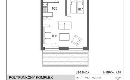 1-izbový byt