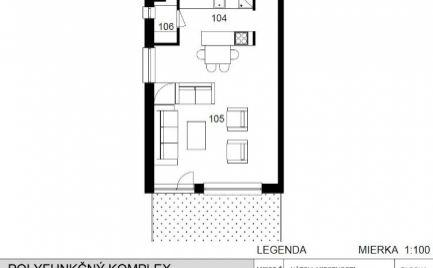 2 - izbový byt