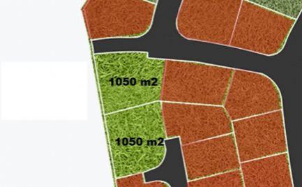 Slnečné  stavebné pozemky pre náročného klienta 1 050 m2, 1 051 m2  - cena 110 € / m2