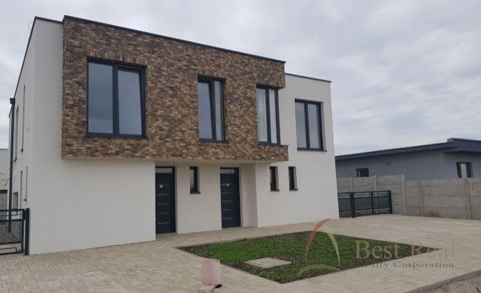 4 izbový výborne riešený rodinný dom, novostavba, slnečný, obytná zóna