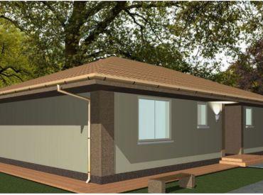 Ponúkame na predaj jednopodlažný, štvorizbový rodinný dom, určený pre štvor až päť člennú rodinu.