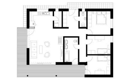 Novostavba rodinný dom s pozemkom o výmere 579 m2,  B. Bystrica Cena – Cena 187  000€