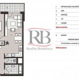 2 izbový byt v novostavbe Jarabinky v Ružinove na predaj