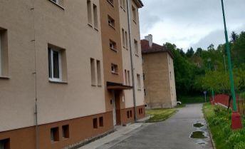 Na predaj kompletne zrekonštruovaný 2 izb byt  prerobený na 3 izb byt s vlastným kúrením v Myjave.