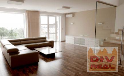 D+V real ponúka na prenájom: rodinný dom, Trinásta ulica, Koliba, Bratislava III, Nové mesto, zariadený, parkovanie pre tri autá