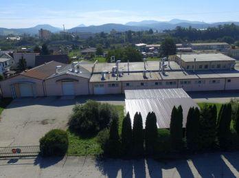 Priemyselný areál/pozemok na predaj - skladové, výrobné, obchodné, parkovacie priestory, ... - ILAVA
