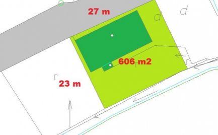 Rodinný dom s pozemkom 606 m2, 15 km od B. Bystrice – cena 113 000€