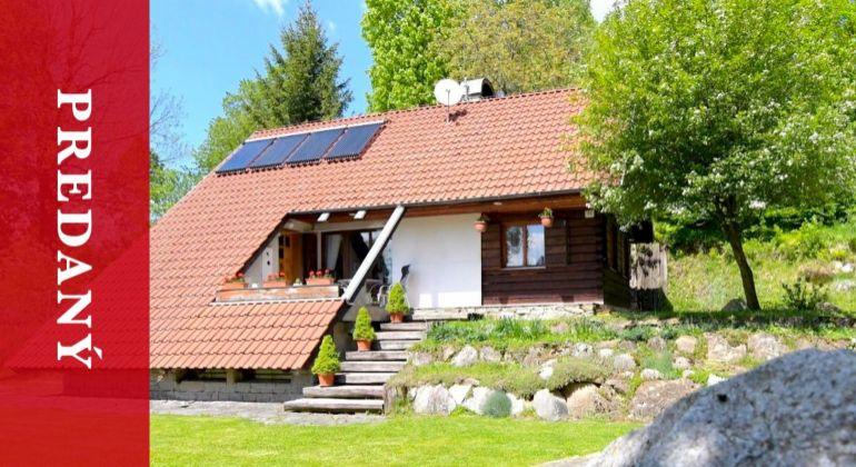 PREDANÝ: Predaj rodinného víkendového domu v Ďurčinej | krásny vodopád | 1003 m2 pozemok