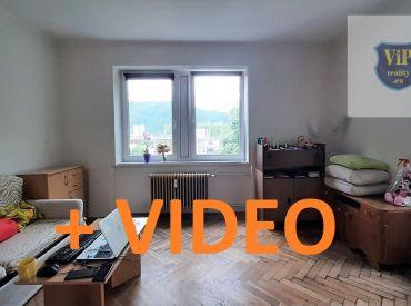 Predané.Video. Byt 2+1 tehlový 65m2, pôvodný stav, Banská Bystrica - Sídlisko