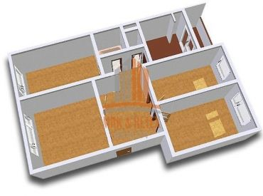 PREDAJ - 4 izbový byt na ulici Ševčenkova