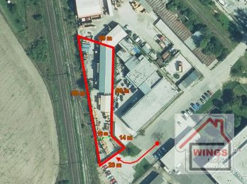 Skladové / výrobné priestory, parkovanie NAD Sereď
